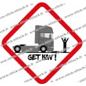 Stickers pictogrammes pour camions