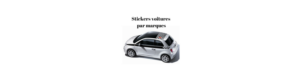 Stickers voitures par marques